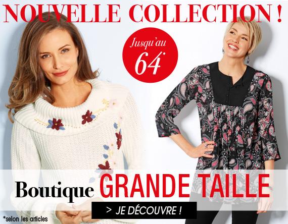 dernières tendances de 2019 original à chaud code de promo Bleu Bonheur Fr | La mode senior grandes tailles et petits prix