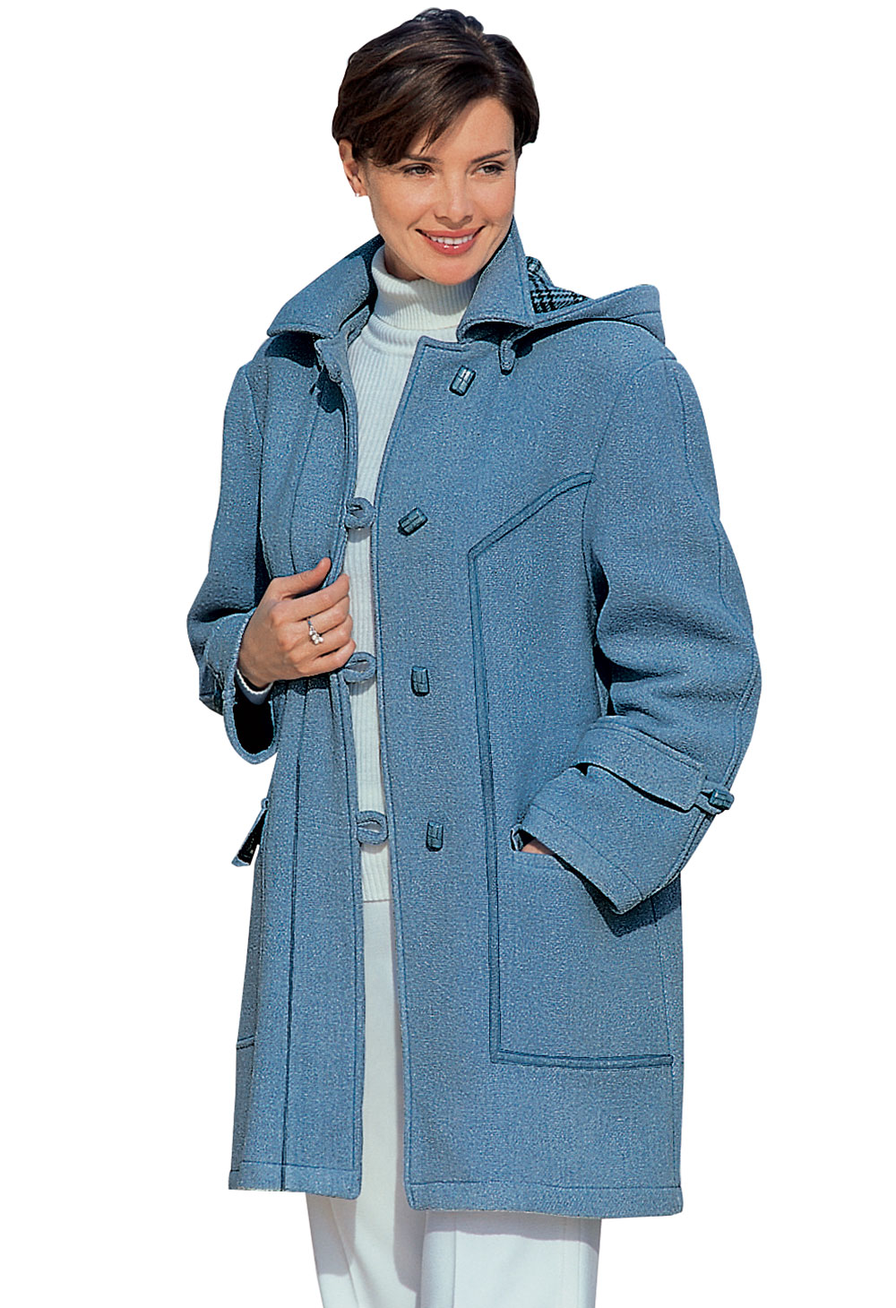 Duffle-coat laine