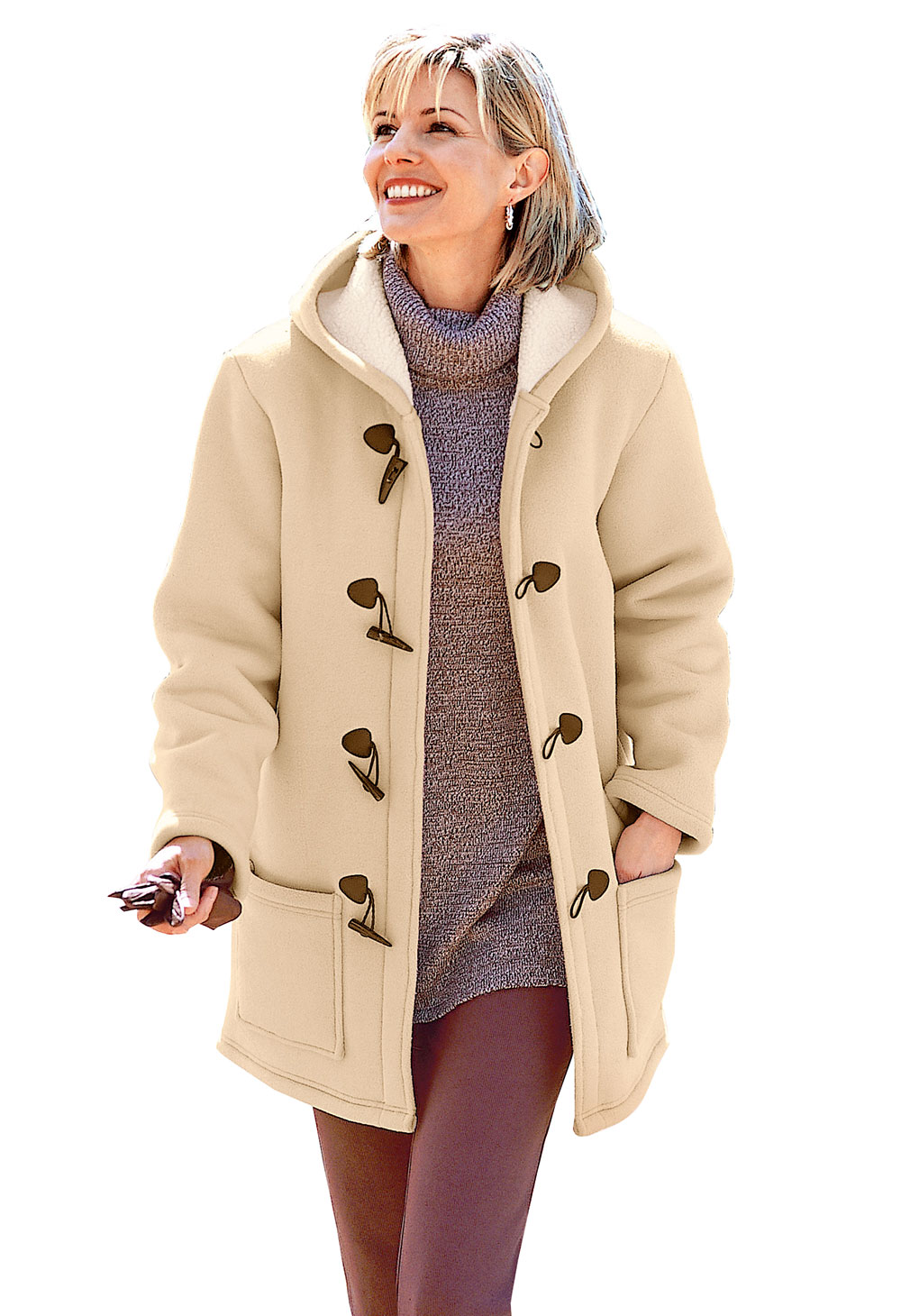 Duffle-coat polaire