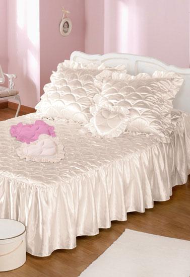 couvre lit en satin blanc Couvre lit satin matelassé | Bleu Bonheur couvre lit en satin blanc