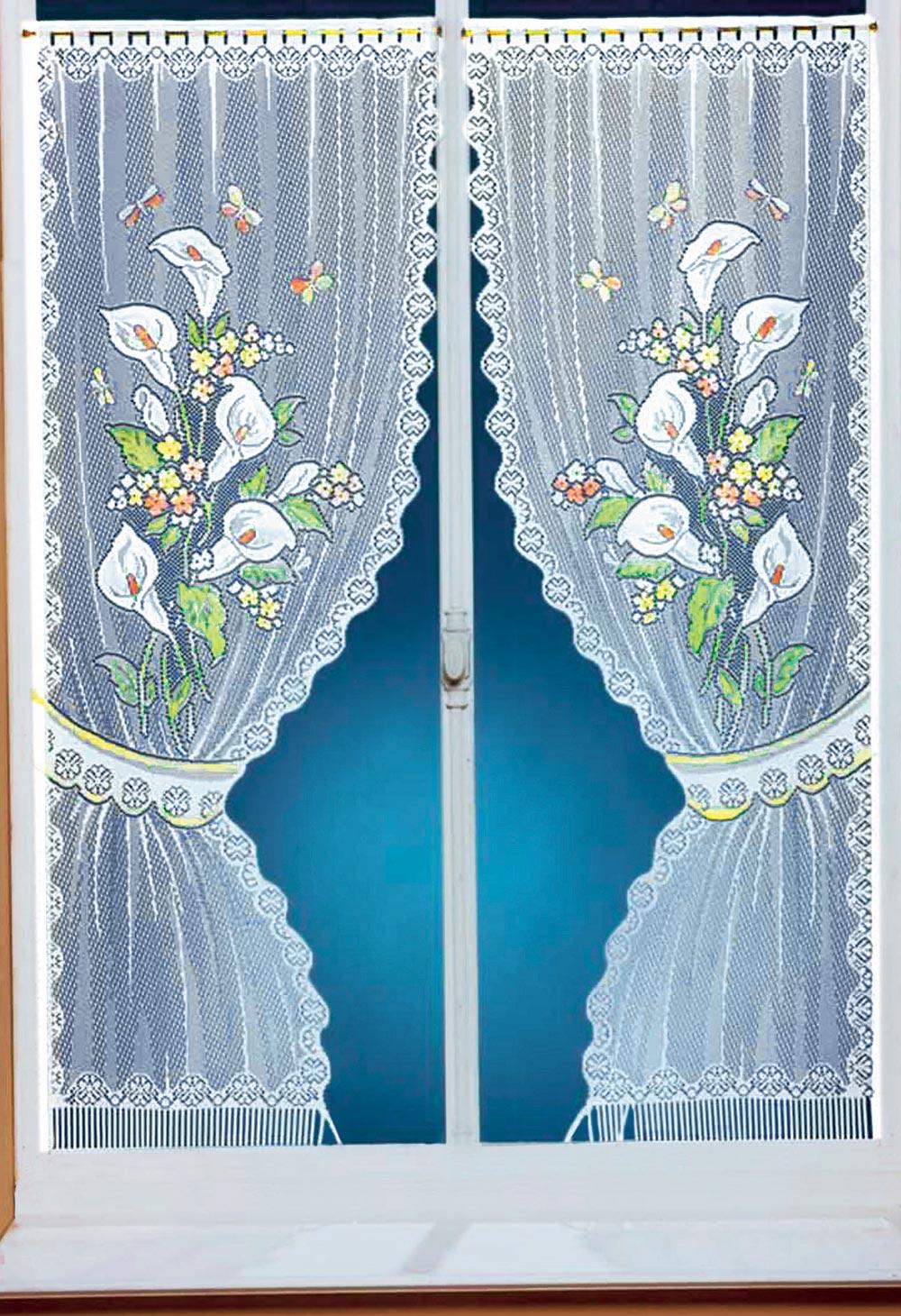 paire de rideaux arums