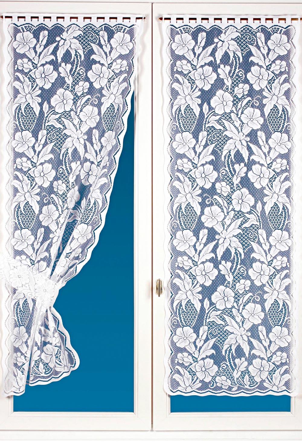 Paire de rideaux bonne femme | Bleu Bonheur