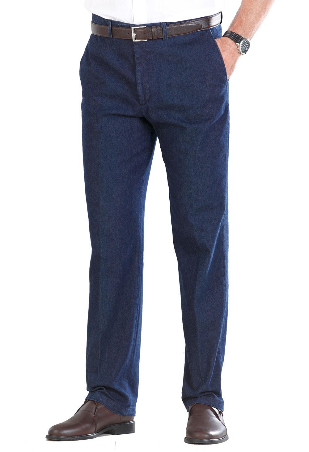 8e1a18071112 Pantalon à ceinture réglable   Bleu Bonheur