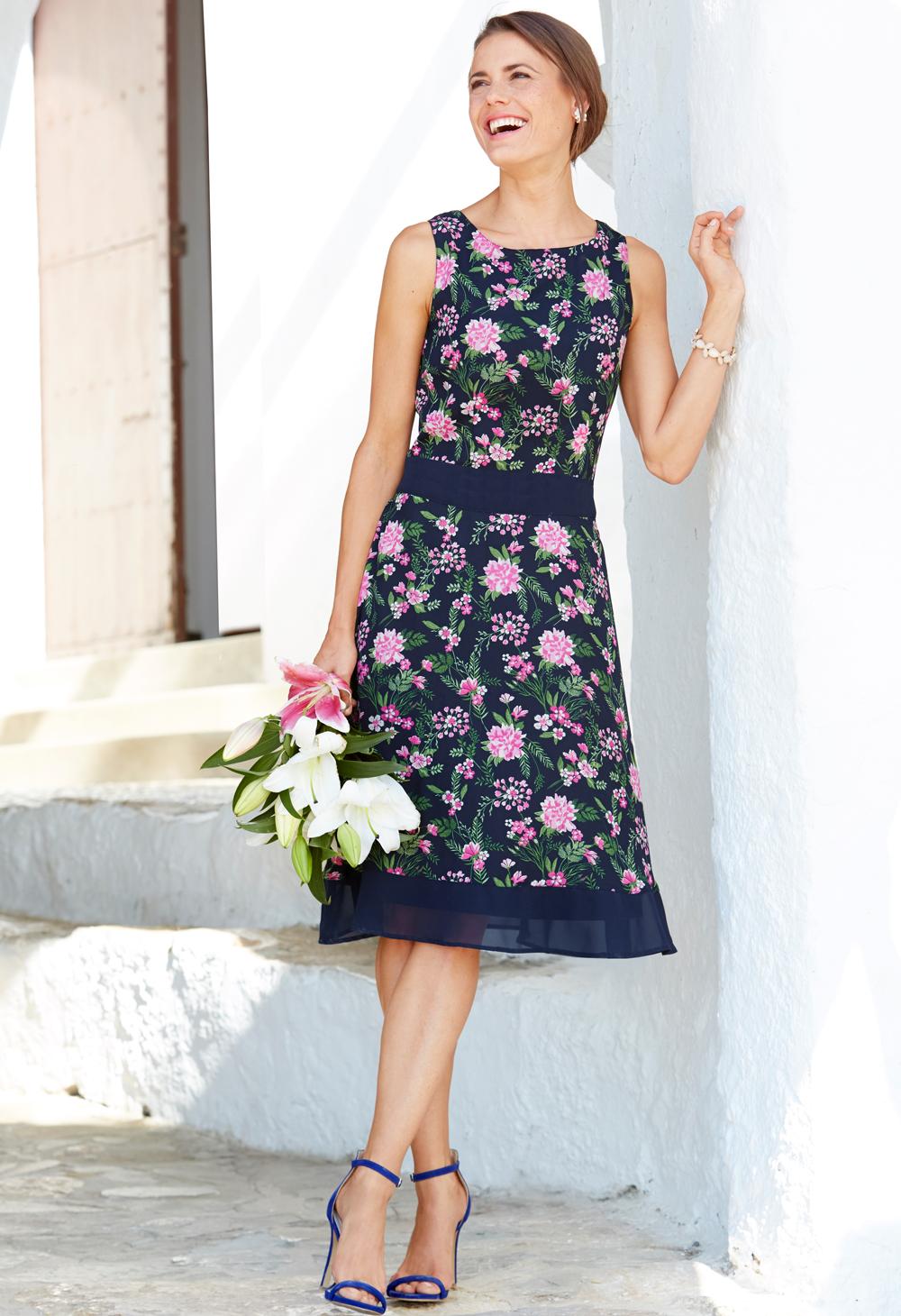 code promo styles de mode robe fleurie ceremonie