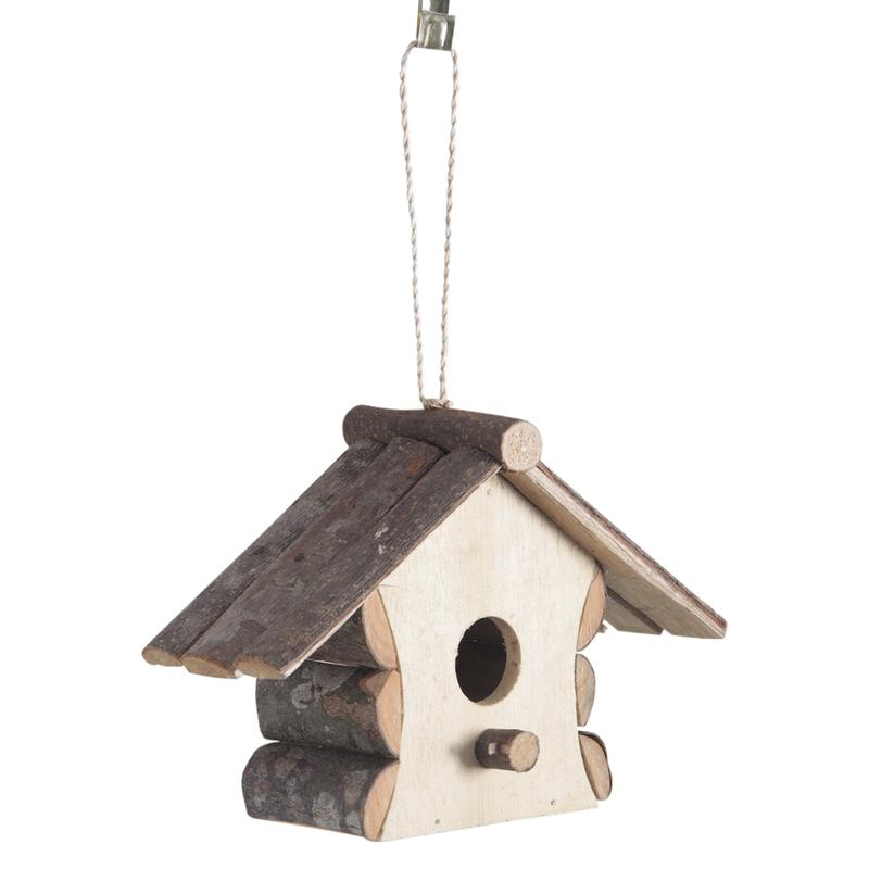 Maison Pour Oiseaux En Bois - Nichoirà oiseaux maison en bois