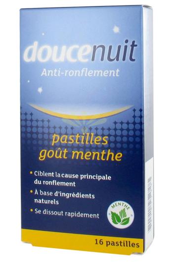 Douce nuit pastilles anti ronflement - Douce nuit ronflement ...