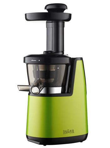 zen pur extracteur de jus vertical vital juicer 2 vert. Black Bedroom Furniture Sets. Home Design Ideas